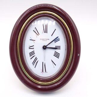 Cartier Paris Vendome Swiss Gold Plated Desk Clock